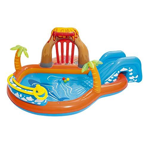 Bestway 53069 Lava Lagoon Play Center Planschbecken 104x104x41cm
