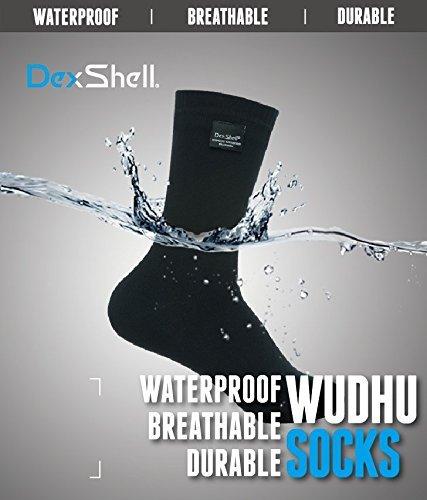 wasserdichte Socken DexShell Wudu Socken Mest Corap mit Coolmax Garn Abriebbeständig Atmungsaktiv Porelle Membran