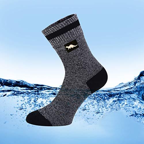 OTTER wasserdichte atmungsaktive Socken Damen und Herren.Geeignet für Outdoor-Aktivitäten wie Golf, Laufen, Radfahren,Bergwandern und Wandern. Die Coolmax