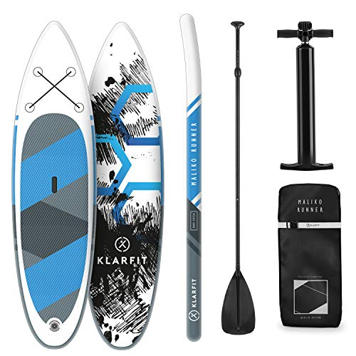 Klarfit Maliko Runner - Stand up Paddle Board, All inkl. Set, Cruiser Shape, 305x10x77cm