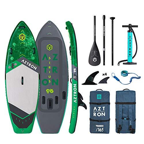 AZTRON Sirius 9.6 iSUP Sup Stand up Paddle Board Surfen Wellenreiten Wildwasser Bäche