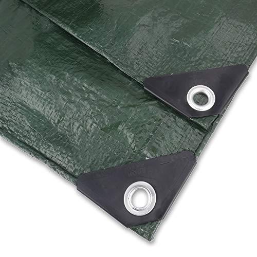 NOOR Abdeckplane Easy 90g/m² I 400 x 600 cm I Allzweckplane für Schutz vor Witterung I Ideal geeignet für die Abdeckung im Garten I UV-stabilisiert, beidseitig beschichtet, wasserfest und abwaschbar