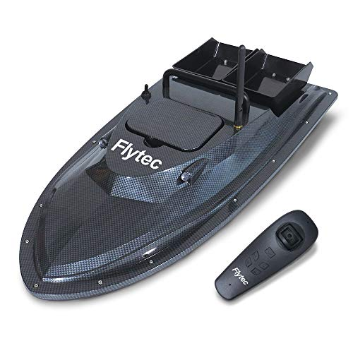 Mobiliarbus Flytec V007 Fish Finder Fischköder Boot 1.5kg Beladung 500m Fernbedienung Fixed Speed Doppelmotoren 2 Batterien RC Boot