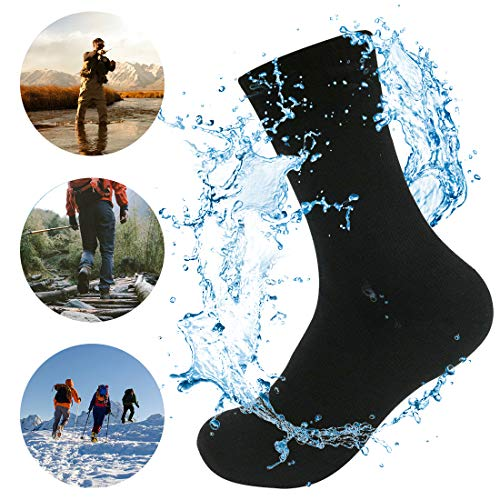 Waterfly Unisex wasserdichte Socken für Damen und Herren Ultraleichte Atmungsaktive Sport Klettern Trekking Wandern Camping Angeln Socken