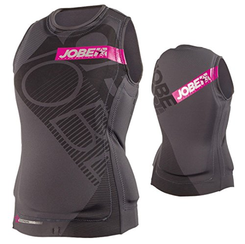 Jobe Progress COMP Vest Women Black-Pink - Schwimmweste Wakeboard Kite Surf SUP Weste Neoprenweste - Boot Jetski Weste