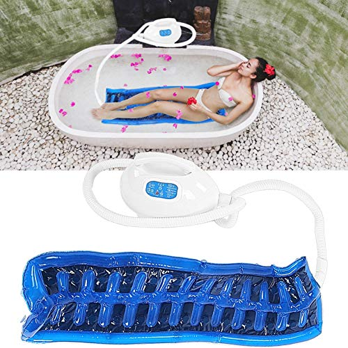 Badewannen-Massagegerät, Seifenblasenmaschine, Badteppich, Spa-Matte, Relax-Matte mit Wassermassage, 3 verstellbare Stufen, passend für jede Badewanne