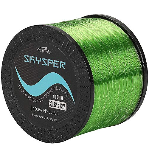 SKYSPER 1000m monofilament fishing line transparent nylon fishing line