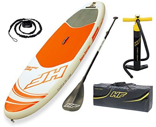 Bestway HYDRO-FORCE iSUP Aqua Journey (274x76x12 cm), aufblasbares Stand-up-Paddle Board