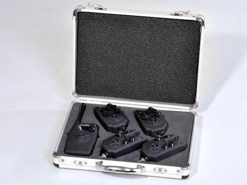 MK-Angelsport Digital Funk Bissanzeiger Set 4 + 1 Ampelfarben Set